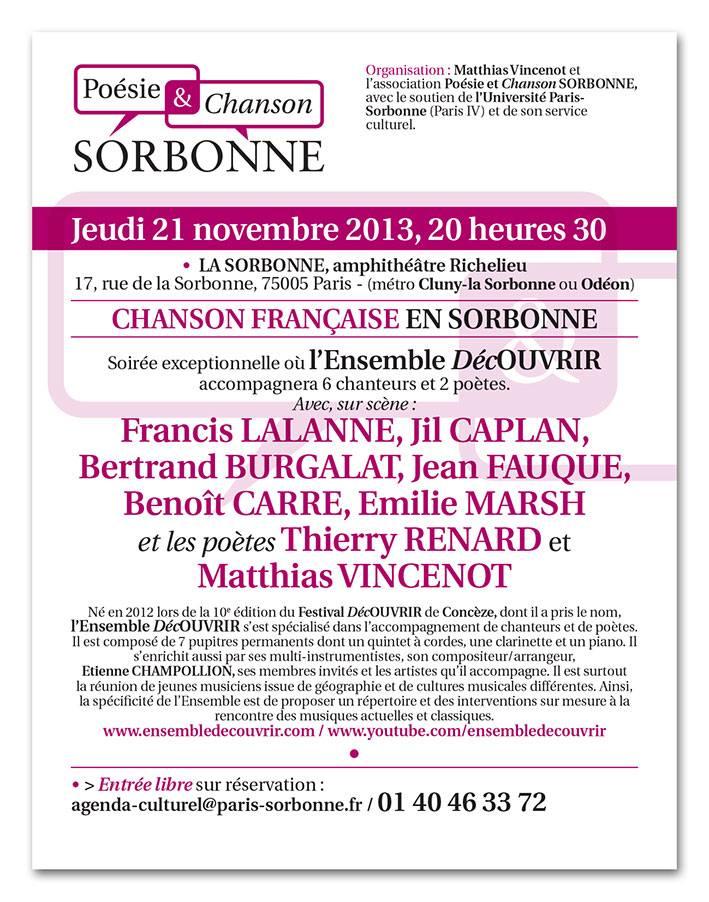 Concert 21/11/2013